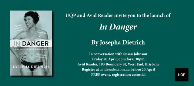 In Danger launch invitation